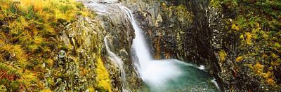 Glen Brittle Photograph - Waterfall, Allt A Choire Ghreadaidh by Panoramic Images