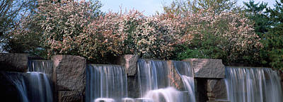 Franklin Photograph - Waterfall, Franklin Delano Roosevelt by Panoramic Images