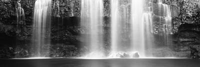 Waterfall In A Forest, Llanos De Cortez Print by Panoramic Images
