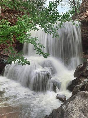 Waterfall Tanyard Creek Bella Vista Print by Tim Fitzharris