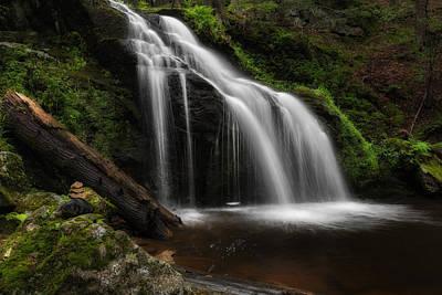 Waterfall Zen Print by Bill Wakeley