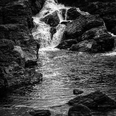 Waterfalls Number 8 Print by Bob Orsillo