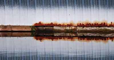 Industrial Photograph - Waterline by Jani Freimann