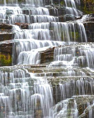 Eternally Photograph - Waters Eternal Flow by Frozen in Time Fine Art Photography