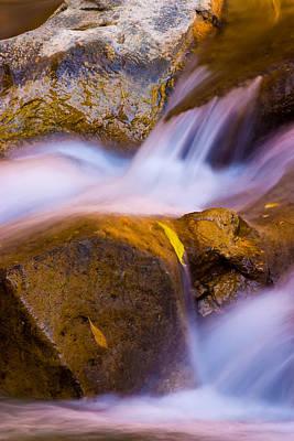 Stream Photograph - Waters Of Zion by Adam Romanowicz