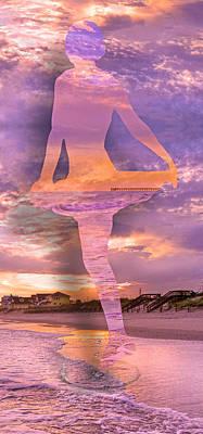 Pier Digital Art - Waterspout by Betsy C Knapp