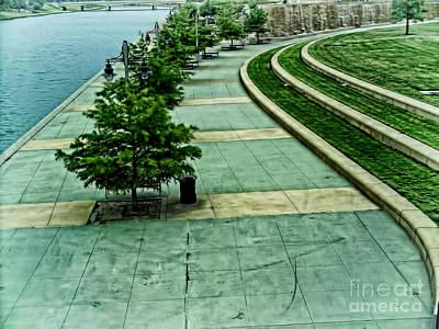 Waterwalk Project Print by Jeremy Linot