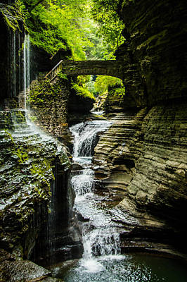 Waterfalls Photograph - Watkins Glen by Sara Frank