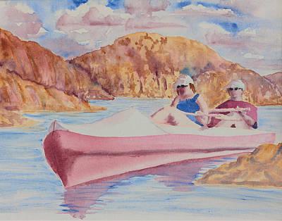 Watson Lake Painting - Watson Lake by Melanie Harman