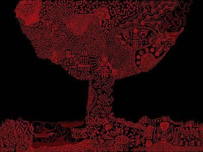 Michael Fitzpatrick Digital Art - Wattieza  by Michael Fitzpatrick