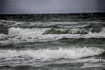Wave Flier Print by Jeremy Linot