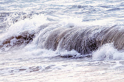 Turbulence Photograph - Wave In Stormy Ocean by Elena Elisseeva