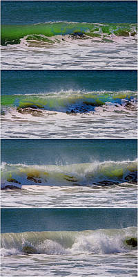 Wave Sequence Print by Betsy C Knapp