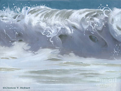Wave Xiii Print by Clinton Hobart
