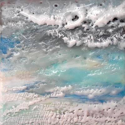 Waves No. 2 Print by Victoria Primicias