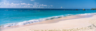 Waves On The Beach, Warwick Long Bay Print by Panoramic Images