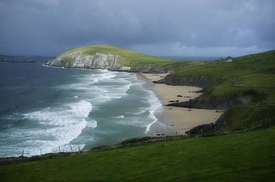 Beach Photograph - Waves Ring Of Dingle by Hugh Smith