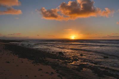 Wawamalu Beach Sunrise - Oahu Hawaii Print by Brian Harig