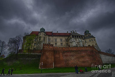 Cracow Photograph - Wawel Castle - Cracow by Giovanni Chianese