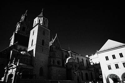 Polish City Photograph - Wawel Cathedral And Sigismunds Gold Roofed Chapel In Wawel Castle Krakow by Joe Fox