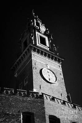 Polish City Photograph - Wawel Cathedral Clock Tower At The Entrance To Wawel Castle Krakow by Joe Fox