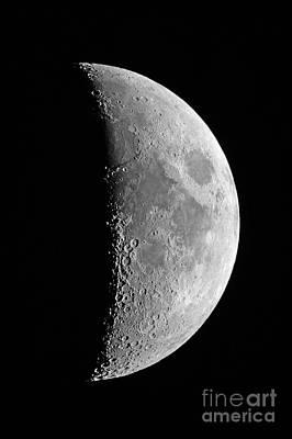 Waxing Crescent Moon, 2013 Print by John Chumack