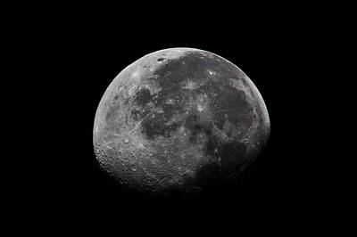 Waxing Moon Print by Nila Newsom