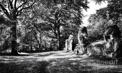 Tomb Photograph - Wayland's Smithy by Tim Gainey