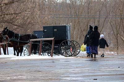 Amish Community Photograph - Wayne County-1 by R A W M