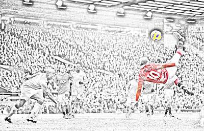 Wayne Rooney Digital Art - Wayne Rooney by Ennis Alhashimi