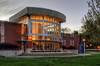Wcu's Killian Annex Print by Greg Mimbs