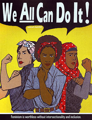 We All Can Do It Print by Valentin Brown