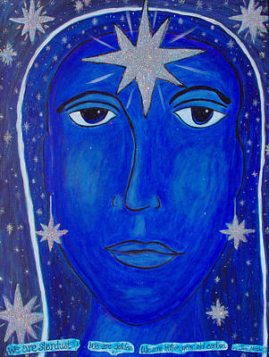 Joni Mitchell Painting - We Are Stardust by Michelle Fairchild