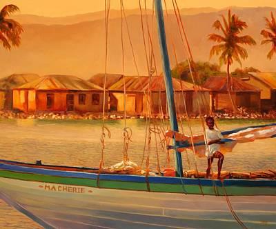 We Be Sailing Original by Sue  Darius