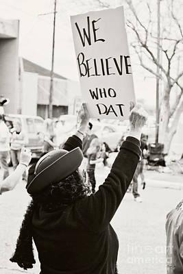 South Louisiana Photograph - We Believe by Scott Pellegrin