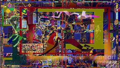 Tzaddik Digital Art - Elul 1hb by David Baruch Wolk