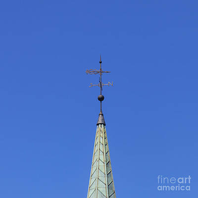 Weather Vane Print by Diane Macdonald