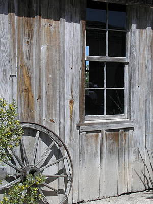 Weathered House Print by Alison Quarles