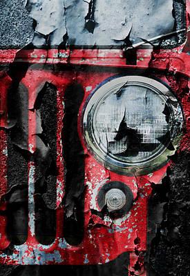 Weathered Willys Print by Luke Moore