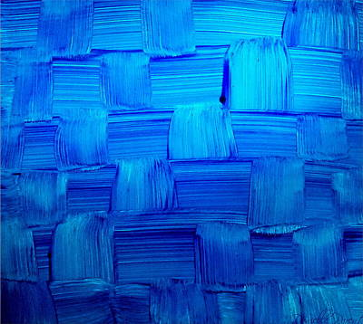 Painting - Weaved Abstract Alcohol Inks by Danielle  Parent