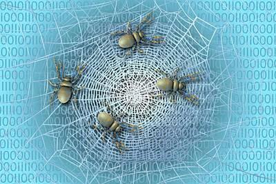 Web Crawlers Print by Carol & Mike Werner