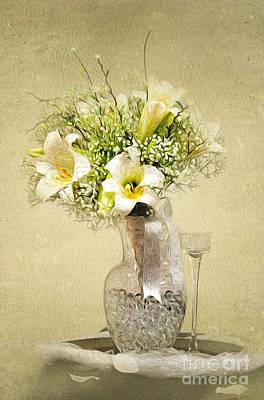 Wedding Bouquet Original by Lena Auxier