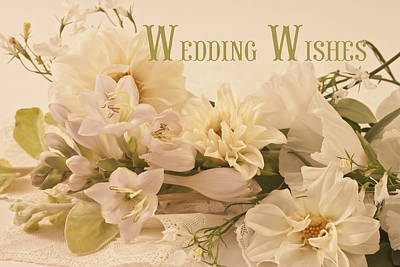 Flower Still Life Photograph - Wedding Wishes by Sandra Foster