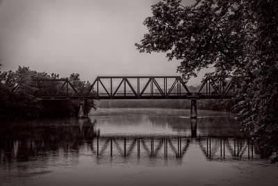 Androscoggin Photograph - Wednesday Morning Fog by Bob Orsillo