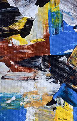 Burnt Umber Painting - Weekend Retreat by Heidi Smith