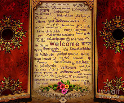Bedros Mixed Media - Welcome by Bedros Awak
