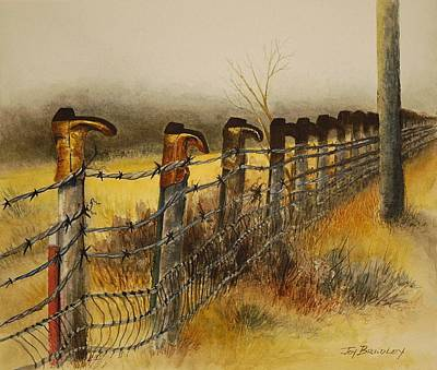 Welcome Print by Joy Bradley