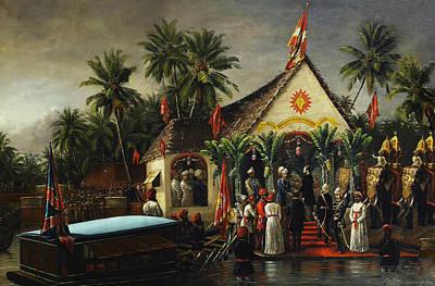 Ravi Digital Art - Welcome by Raja Ravi Varma