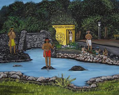 Welcome To Aguadilla Original by Gloria E Barreto-Rodriguez