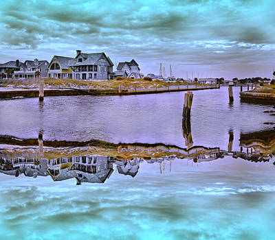 Welcome To Bald Head Island II Print by Betsy C Knapp